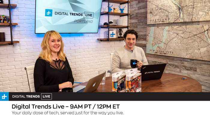 Digital Trends Live - 3.5.19 - Net Neutrality On The Comeback Trail + Live With A V.R. T-Rex