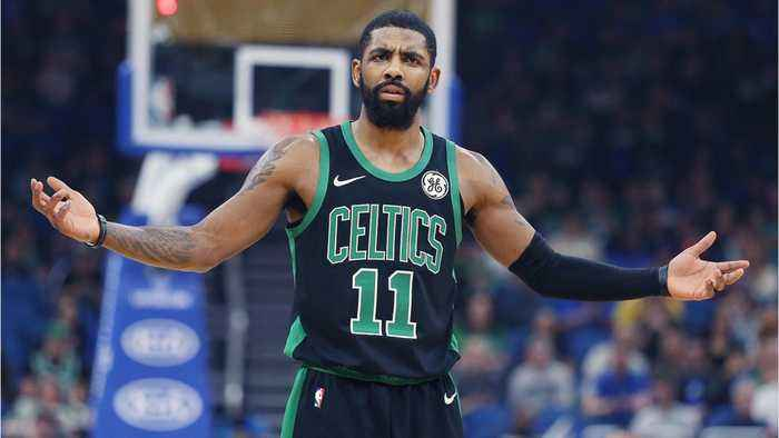 Kyrie Irving Has Reportedly Become 'Disengaged And Detached' As The Celtics Fall Apart