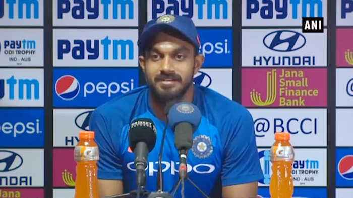 India Vs Aus 2nd ODI : Vijay Shankar says, I was waiting for this opportunity | Oneindia News