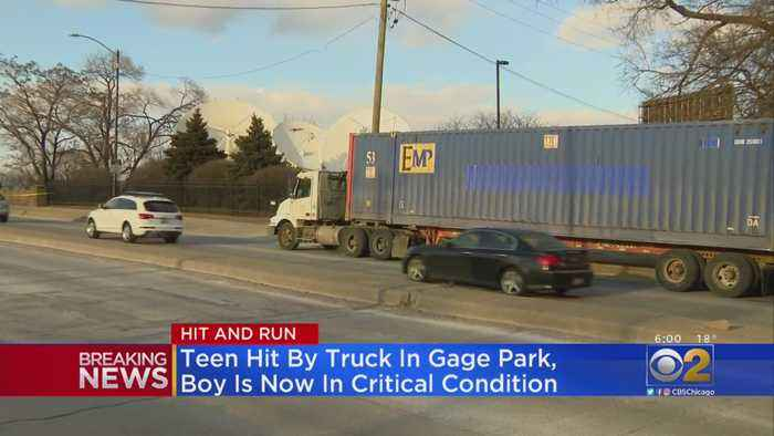 Boy Hit By Semi Truck In Gage Park In Critical Condition, Police Say