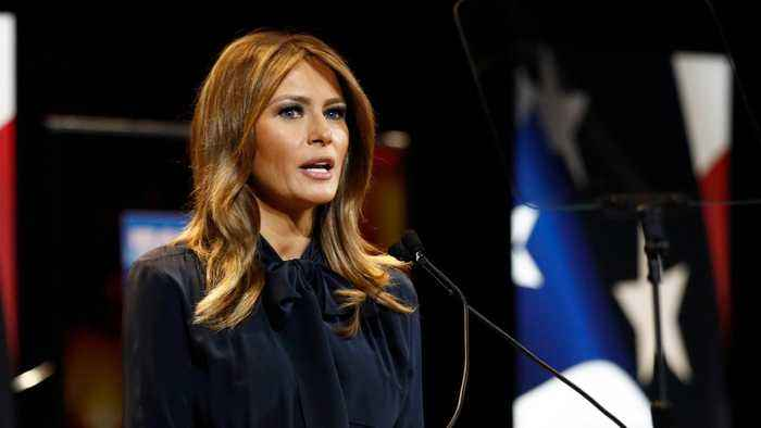 Melania Trump Wants The Media To Focus More On The Opioid Epidemic