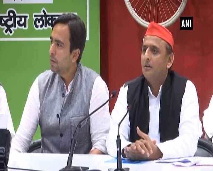 LS polls RLD joins SP-BSP alliance in UP, Akhilesh claims Congress part of Mahaghatbandhan