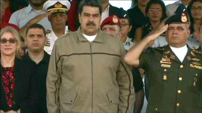 Maduro denounces 'minority of opportunists and cowards'