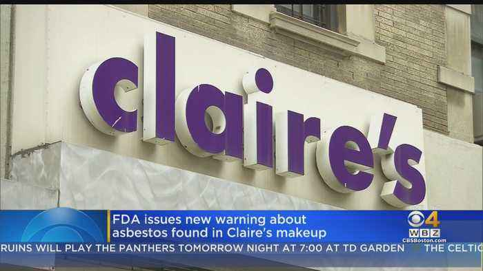 FDA Issues New Warning About Asbestos Found In Claire's Makeup