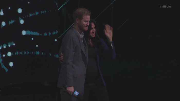 Right Now: Meghan Markle Made a Surprise On-Stage Appearance with Prince Harry