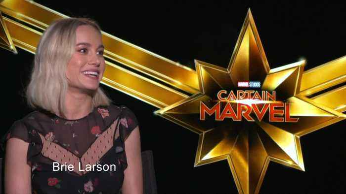 Brie Larson blasts off as Marvel's first leading lady