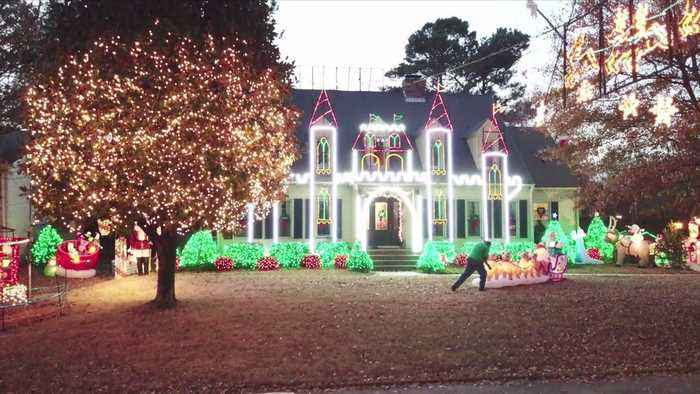 Man Who Lit Up the Holiday Season with Elaborate Displays in Alabama Has Died