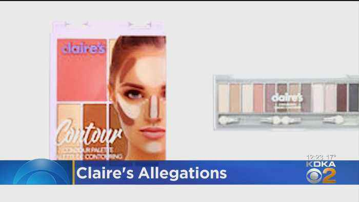 FDA Warning: Some Claire's Cosmetics May Contain Asbestos
