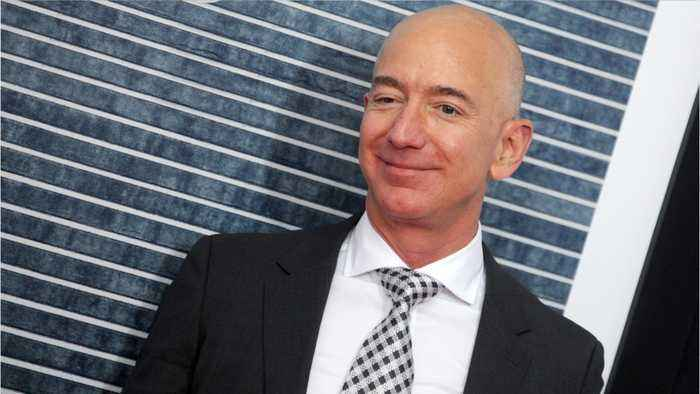 Jeff Bezos Discusses Blue Origin And SpaceX