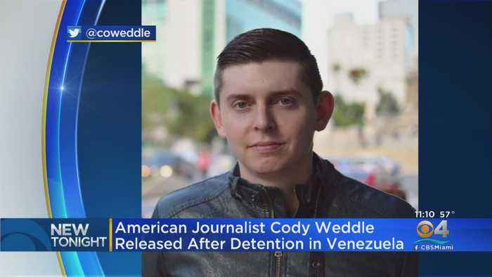 American Journalist Released After Being Taken By Venezuelan Security Forces
