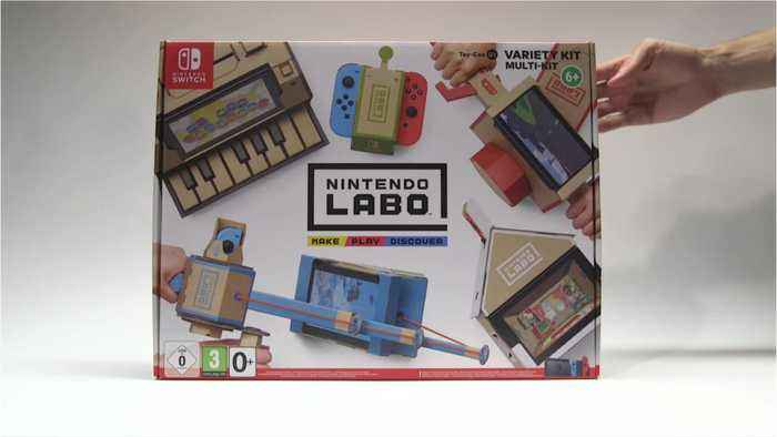 Nintendo Switch Gets Labo VR Headset