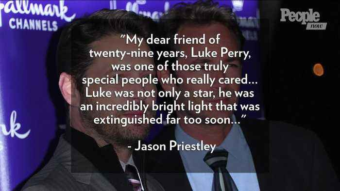 Jason Priestley Speaks Out for the First Time Following Luke Perry's Death: I Am 'in So Much Pain'