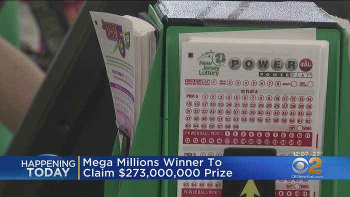 Mega Millions Winner To Claim His Prize