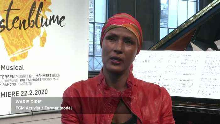 Model turned activist Waris Dirie says world is ignoring the crime of FGM