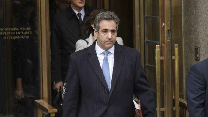 Michael Cohen Sues Trump Organization for Attorney Fees