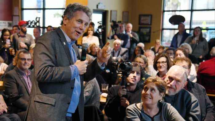 Sen. Sherrod Brown Says He's Not Running for President