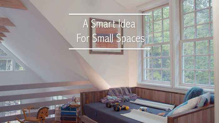 A Smart Idea For Small Spaces