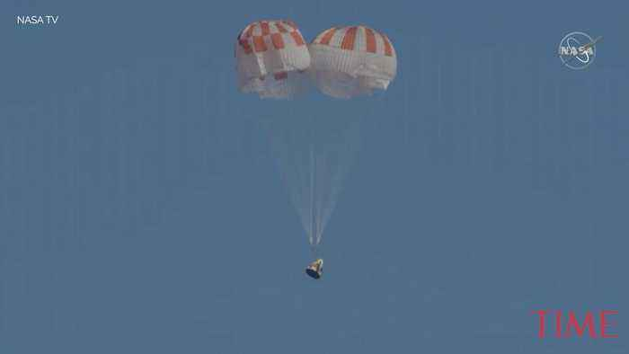 SpaceX's Crew Dragon Is Safely Back On Earth. Now it's the Astronauts' Turn