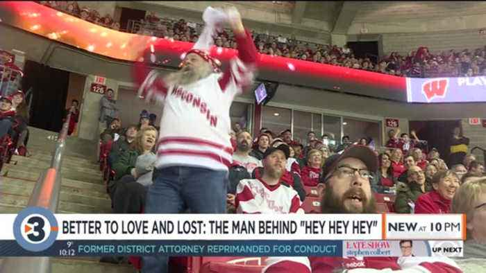 The man behind the fan: How 'Hey Hey Hey' became a staple of Badgers hockey