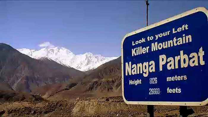 Italian and British climber found dead on Pakistan's 'killer mountain'