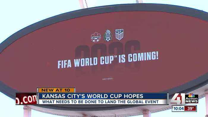 What needs to be done for KC to land World Cup matches