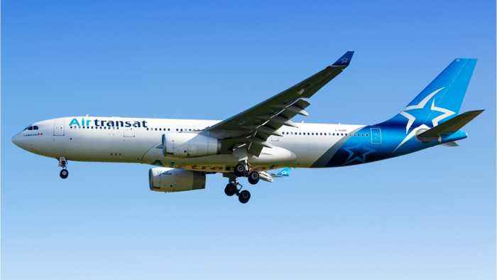 Air Transat Flight Diverted To Newark After Reports Of Fire In Cargo Hold