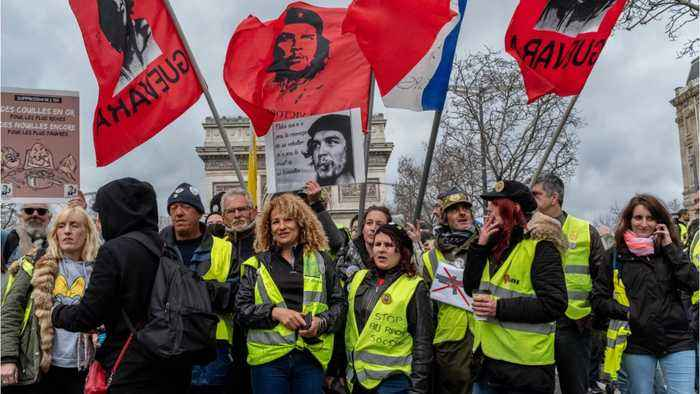 Not With A Bang But A Whimper? French 'Yellow Vest' Protestors' Numbers Shrink