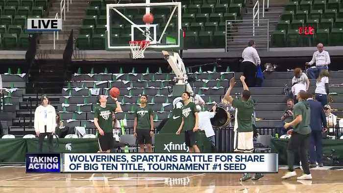 Michigan, MSU players look ahead to monumental matchup