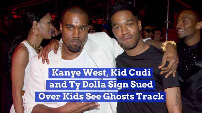 Kanye West, Kid Cudi And Ty Dolla Sign Are All Sued Together