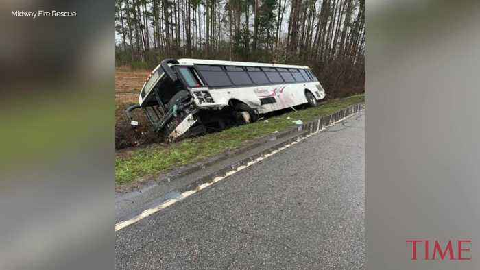 At Least 22 Injured in South Carolina Bus Crash, Authorities Say