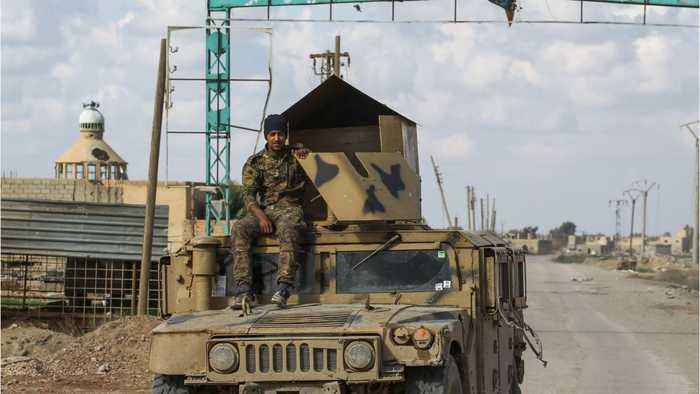 US-Backed Forces Attack ISIS Stronghold