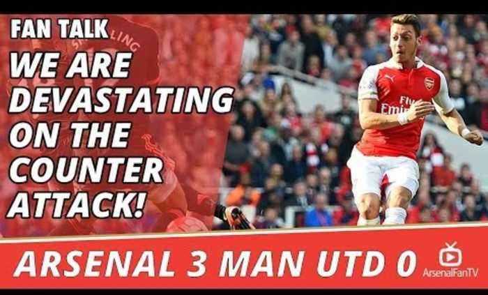 We Are Devastating On The Counter Attack!  | Arsenal 3 Man Utd 0
