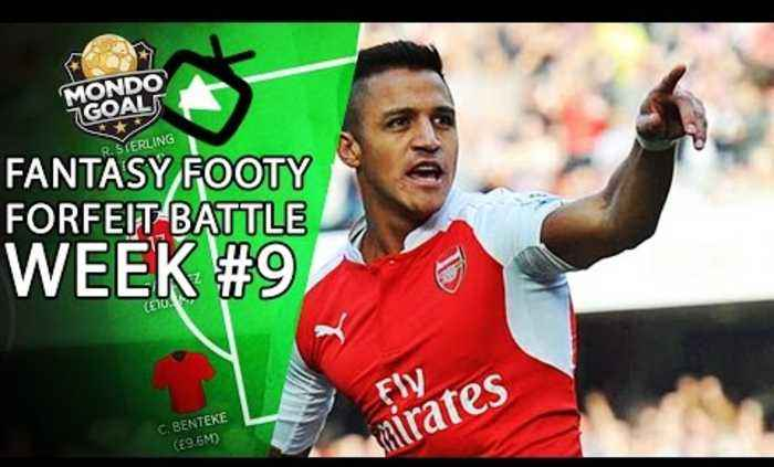 Fantasy Footy Forfeit Battle Week #9 #TeamAFTV