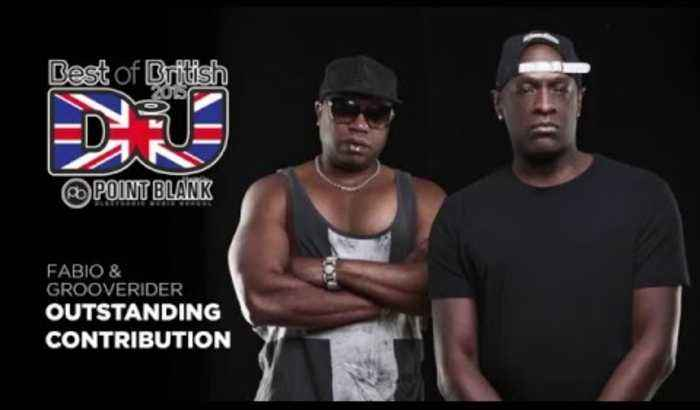 Fabio & Grooverider Interview: Best of British Outstanding Contribution Winners