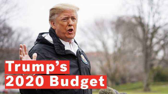 President Trump Unveils New Trump 2020 Budget Which Includes $8.6 Billion For Wall