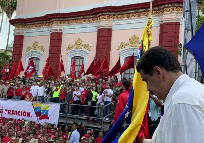 Maduro Says Blackouts in Venezuela Caused by Cyber Attacks