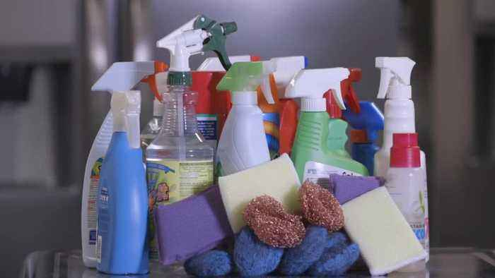 Workplace flu, disinfecting items you don't normally clean