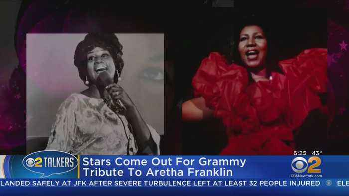 Stars Pay Tribute To 'Queen Of Soul'