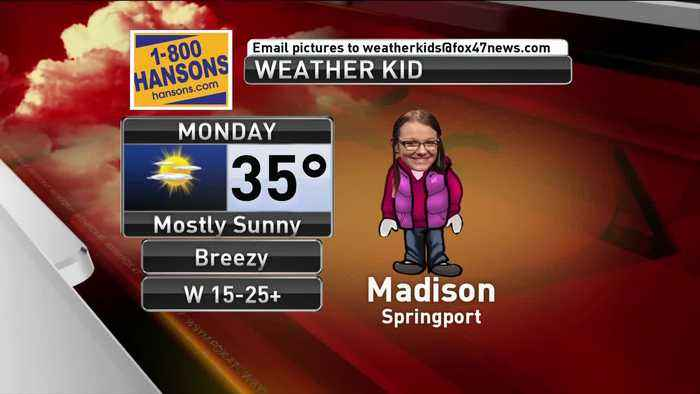 Weather Kid - Madison - 3/10/19