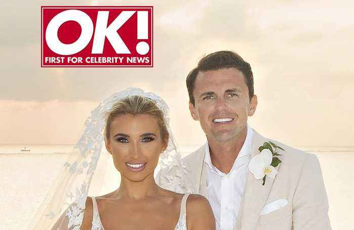 Billie Faiers and Greg Shepherd's 'fairy tale' wedding!