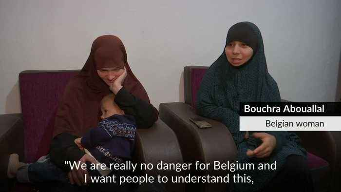 Two Belgian women hope for return after renouncing Islamic State