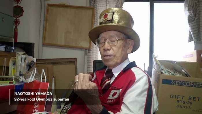92-year-old Olympics superfan gears up for Tokyo 2020