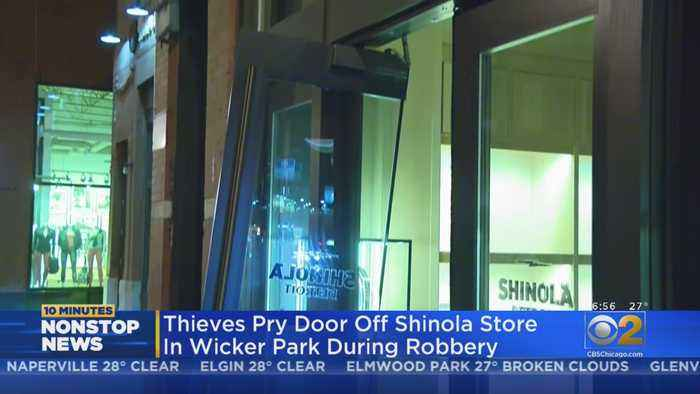 Doors Pried Off Wicker Park Store In Early Morning Burglary