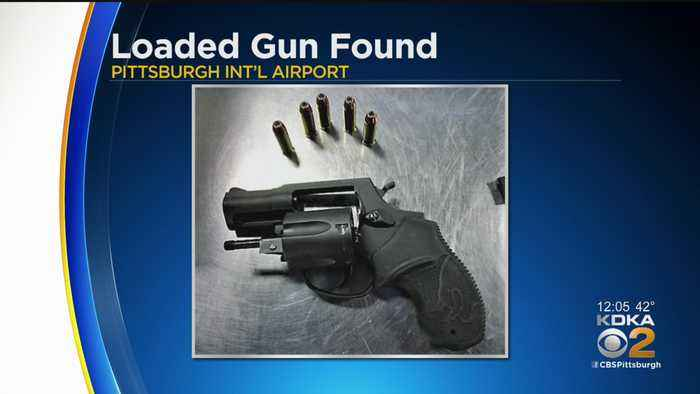 TSA Finds Loaded Gun In Monroeville Man's Carry-On At Pittsburgh Airport