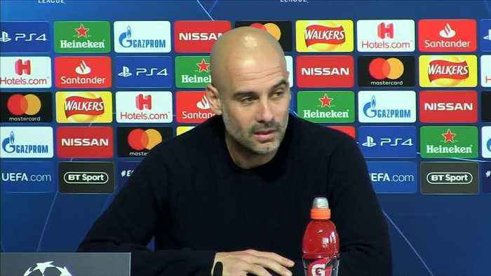 'We still have work to do,' says Guardiola ahead of Champions League match against Schalke