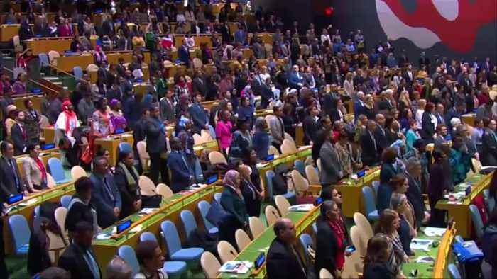 U.N. moments of silence for Ethiopia crash victims