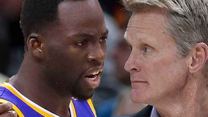 Steve Kerr CAUGHT Saying 'I'm So F-Ing SICK Of Draymond' After TRASH Loss To Suns!