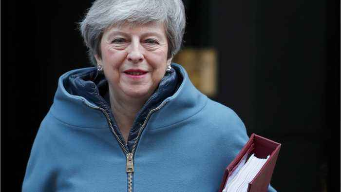 UK PM May Hoping To Negotiate With EU About Backstop
