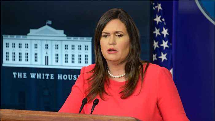 Sarah Sanders Won't Say If Trump Believes 'Democrats Hate Jews'