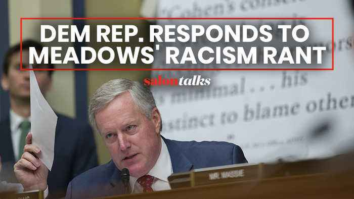 Democrats respond to Rep. Meadows' far-right racism move at Cohen hearing